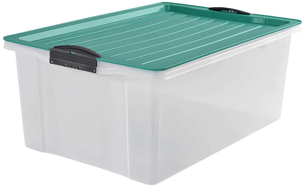 Abbildung des Angebots ROTHO Stapelbox A3 »Compakt« Grün