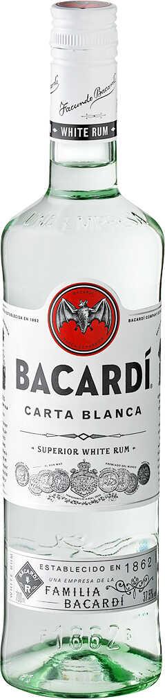Abbildung des Angebots BACARDI Carta Blanca, Negra oder Oakheart Rum