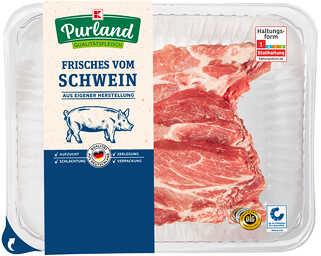 Abbildung des Angebots K-PURLAND Schweinenackenkotelett