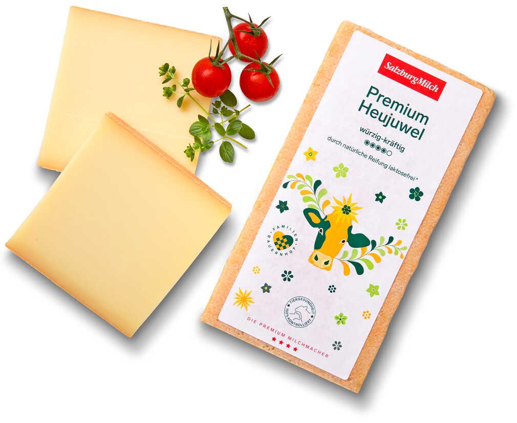 Abbildung des Angebots SALZBURGMILCH Premium Heujuwel 50 % Fett i. Tr.