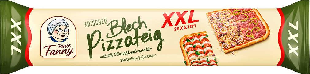 Abbildung des Angebots TANTE FANNY Frischer Blech-Pizzateig XXL