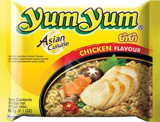 Abbildung des Angebots YUM YUM Asiat. Instant-Nudelgerichte versch. Sorten