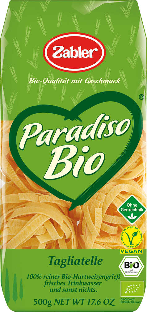 Abbildung des Angebots ZABLER Paradiso Bio-Nudeln