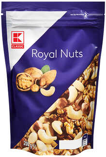 Abbildung des Angebots K-CLASSIC Royal Nuts Edelnuss-Mischung