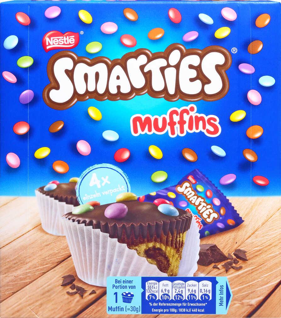 Abbildung des Angebots NESTLÉ Smarties-Muffins