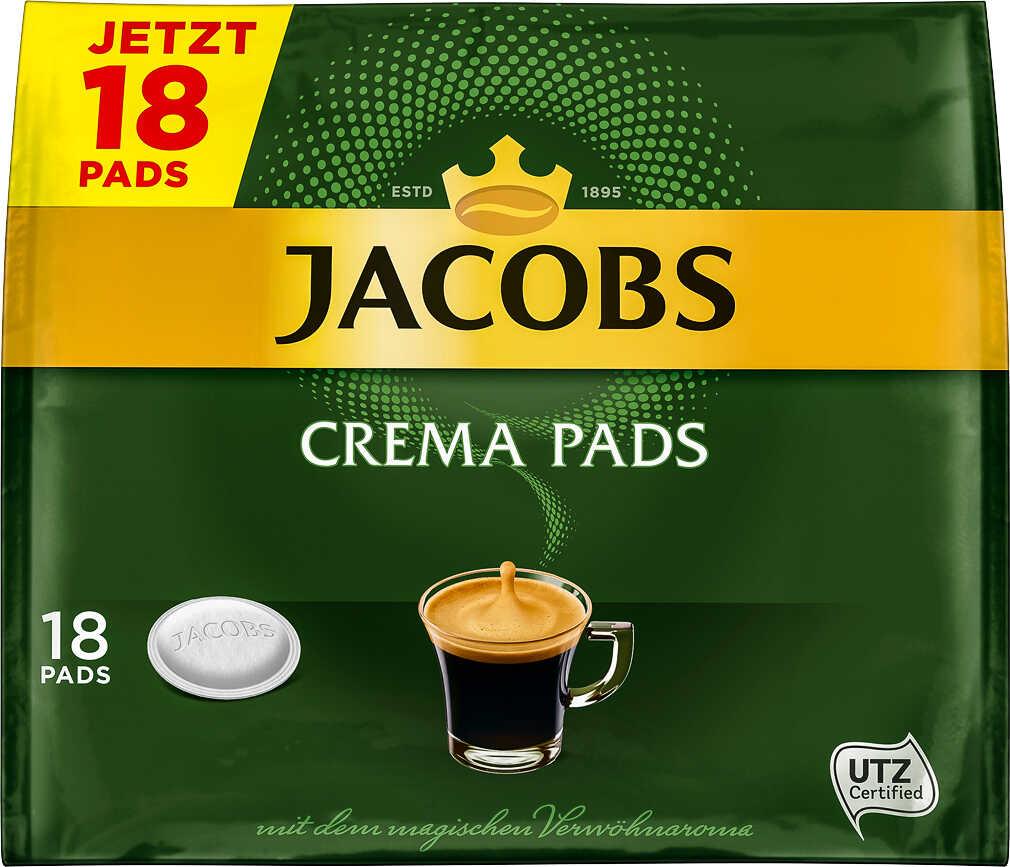 Abbildung des Angebots JACOBS Crema Kaffeepads