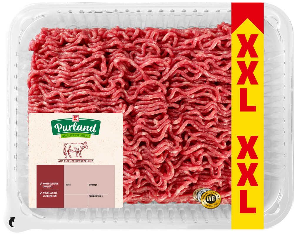 Abbildung des Angebots K-PURLAND XXL-Rinderhackfleisch
