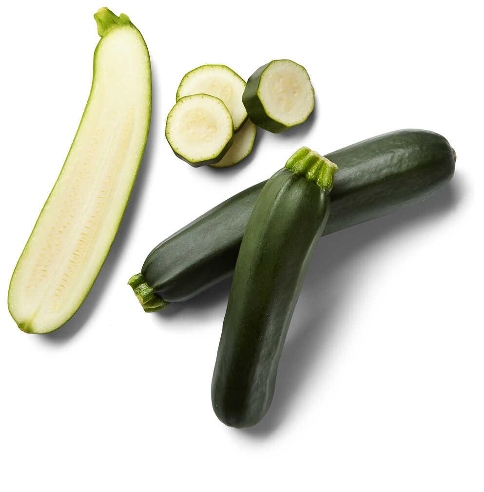 Abbildung des Angebots Span./niederl. Zucchini oder Aubergine, lose