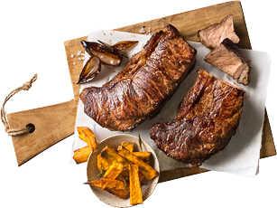 Abbildung des Angebots Dry Aged Rinderroastbeef vom Galicischen Rind