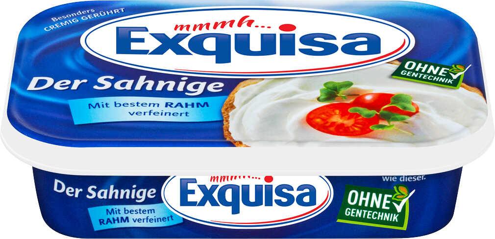 Abbildung des Angebots EXQUISA oder MIREE Frischkäsezubereitung Magerstufe - Doppelrahmstufe