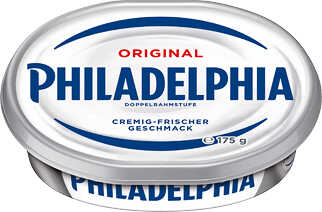 Abbildung des Angebots PHILADELPHIA Frischkäsezubereitung Rahmstufe - Doppelrahmstufe