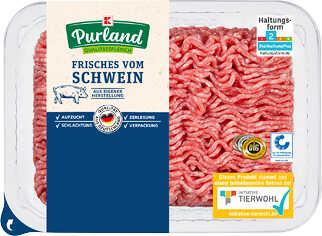 Abbildung des Angebots K-PURLAND Schweinehackfleisch