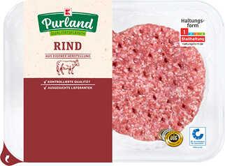 Abbildung des Angebots K-PURLAND Hamburger vom Rind